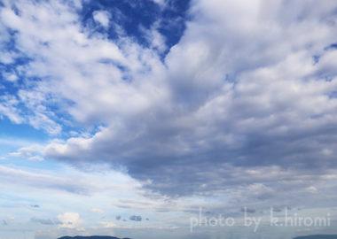 翼を広げて希望に向う。空を彩るアートグラフィ 20200809