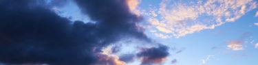 厄除けの神が来た!空を彩るアートグラフィ 20200810