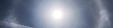 ハロ 日暈 空を彩るアートグラフィ