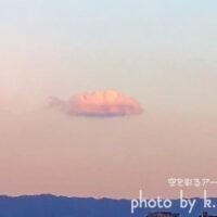 夕方の「雲」…何か感じますか? 空を彩るアートグラフィ