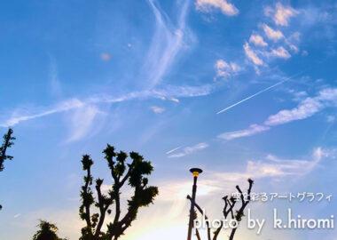 宇宙の謎?? 空を彩るアートグラフィ